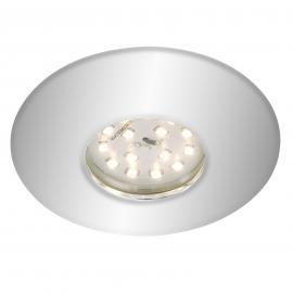 Verchromter LED-Einbaustrahler Shower, IP65