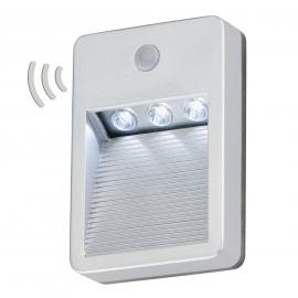 Batteriebetr. LED-Außenwandleuchte Lero m. Sensor