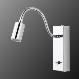 Bewegliche LED-Wandleuchte mit Schalter