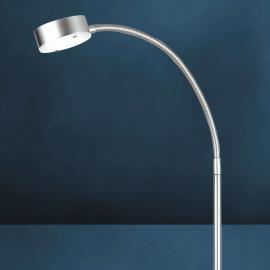 Flexible LED-Stehleuchte SATURN, 1-flammig