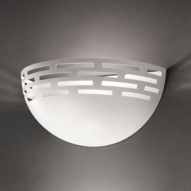Greka - schöne LED-Wandleuchte in Weiß