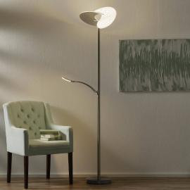 LED-Stehleuchte Malibu mit Memory-Funktion
