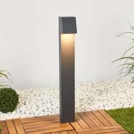 Bega - kantige LED-Wegeleuchte Bennet mit Erdstück