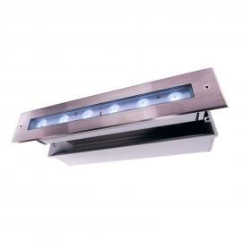 LED-Bodeneinbauleuchte Jeremia, 32,8cm, tageslicht