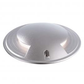 Silberfarbene LED-Bodeneinbauleuchte Smart