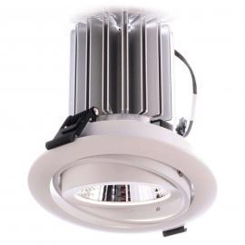 COB 23 LED-Einbaustrahler, Ra>90, universalweiß