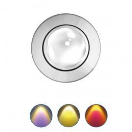 Mobilux MOBiDIM COB Color Einbaustrahler, alu poliert