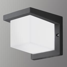 Würfelförmige LED-Außenwandleuchte Desella