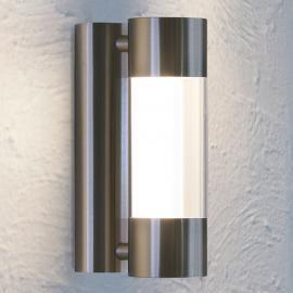 LED-Außenwandleuchte Robledo aus Edelstahl