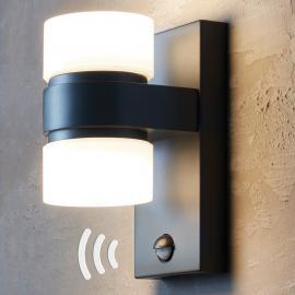 LED-Außenwandleuchte Atollari mit Bewegungsmelder