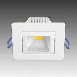 Trendiger LED-Einbaustrahler Pound weiß