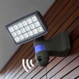 Peri Cam - LED-Außenstrahler mit Kamera u. Sensor