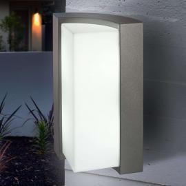 TIRANO zeitgemäße Außenwandleuchte mit LEDs, anthr