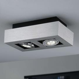 Zweiflammige LED Deckenleuchte Loke