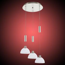 Dreiflammige LED-Pendelleuchte Montefio