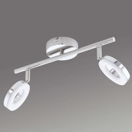 Zweiflammige LED-Deckenleuchte Gonaro, IP44