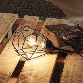 Originell gestaltete Tischleuchte Tarbes