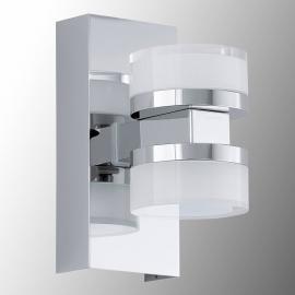 Spritzwassergeschützte LED-Wandleuchte Romendo