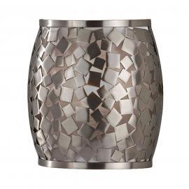 Silberne Wandleuchte Zaria in Mosaikoptik