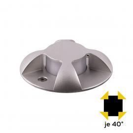 LCD Außenleuchten 1457/1467 Bodeneinbaustrahler LED, Edelstahl