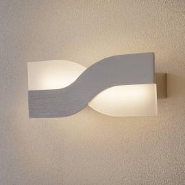 Trendige LED-Wandleuchte Riace 30 cm aluminium