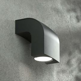Moderne Außenwandleuchte KLAMP