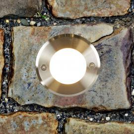 Edelstahl - moderne LED-Bodeneinbauleuchte LED-18