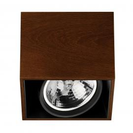 FLOS Compass Box H135 - Deckenleuchte wenge