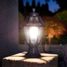 Seewasserfeste LED-Sockelleuchte Mikrolot Anna E27