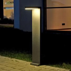 Aluminium-LED-Wegeleuchte Tamar in Anthrazit