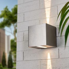 LED-Wandstrahler Angessa Lichtaustritt eng eng