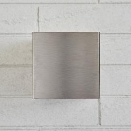 LED-Wandstrahler Angessa Lichtaustritt breit breit