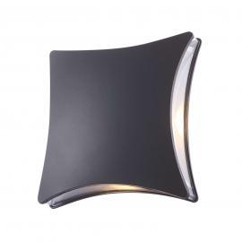 Indirekt strahlende LED-Außenwandleuchte Evalia