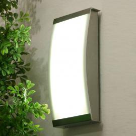 Trendige LED Außenwandleuchte LISET, 4.000 K