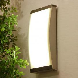 Trendige LED Außenwandleuchte LISET, 3.000 K