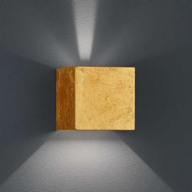 SIRI 44 LED - Außenwandleuchte mit Blattgold