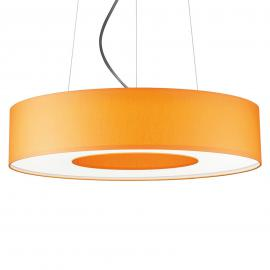 LED-Pendelleuchte Donut dimmbar 34 W orange