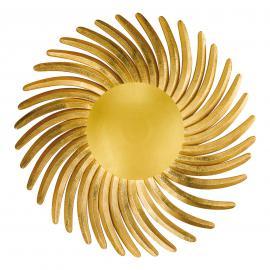 Blattvergoldete LED-Wandleuchte Shine LED