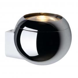 SLV Light Eye Ball - Wandleuchte, chrom