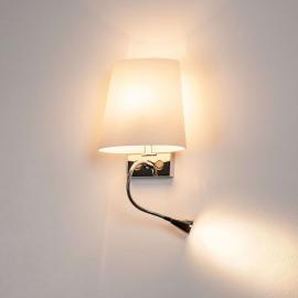 Aktuelle Wandleuchte COUPA mit LED Leseleuchte