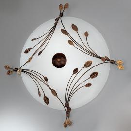 Foglie Deckenleuchte 67 cm, 3-flammig