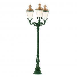 Dreiflammiger Kandelaber Parijs, grün