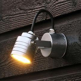 Raffinierte LED-Außenwandleuchte Monza 7903