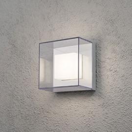 Quadratische LED-Außenwandleuchte Sanremo