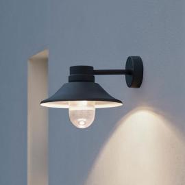 Außenwandleuchte Vega schwarz LED