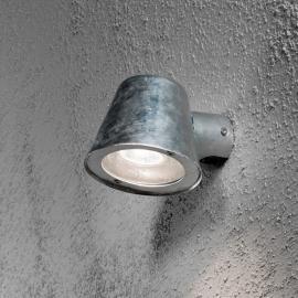 Kleine Außenwandleuchte Trieste aus Stahl