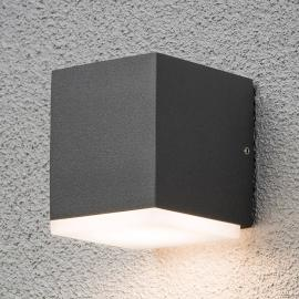 Quadratische LED-Außenwandleuchte Monza