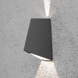 LED-Außenwandleuchte Imola mit verst. Lichtwinkel