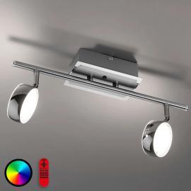 2-flammige LED-Deckenleuchte Lola-Opti mit FB
