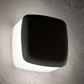 Eckige LED-Außenwandleuchte MiniWhite_Cover